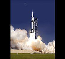 Rocket launch by TexasBarFight