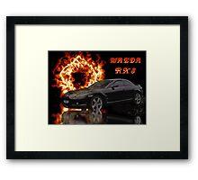 Mazda RX 8 Framed Print