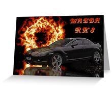 Mazda RX 8 Greeting Card