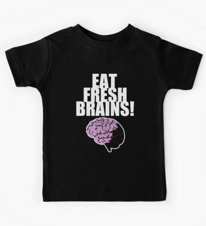 EAT FRESH BRAINS! Kids Tee