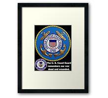 US Coast  Guard Rembers Framed Print
