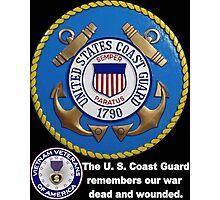 US Coast  Guard Rembers Photographic Print