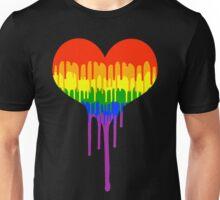 Gay Pride Drip Unisex T-Shirt