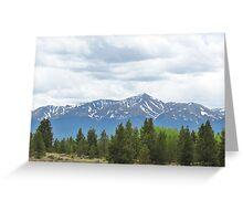Mt. Elbert, Colorado Greeting Card