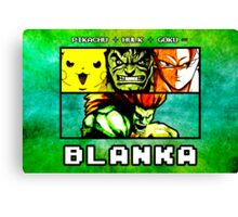 Blanka Fusion (Print Version) Canvas Print