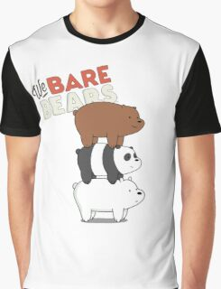 We Bare Bears - Cartoon Network Graphic T-Shirt