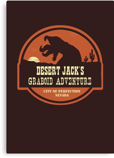 Desert Jack's Graboid Adventure logo by sponzar