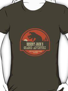 Desert Jack's Graboid Adventure logo T-Shirt