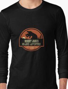 Desert Jack's Graboid Adventure logo Long Sleeve T-Shirt