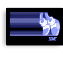 Sonic Moonwalker (Print Version) Canvas Print