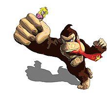 Donkey King-Kong Photographic Print