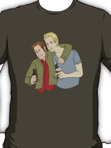 Drinks and Laughs- Gabriel and Balthazar T-Shirt