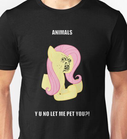 Fluttersy Y U NO Unisex T-Shirt