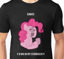 Pinkie Pie Y U NO Unisex T-Shirt