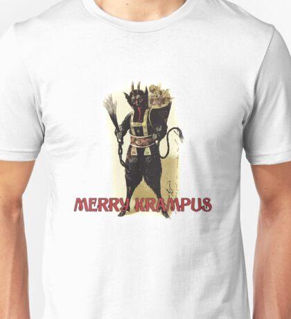 Merry Krampus Unisex T-Shirt