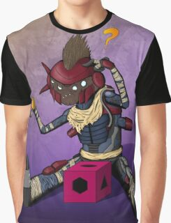 Dumb Dreg (with background) Graphic T-Shirt