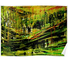 deep valley forest.... wall sketches Poster
