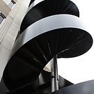Stairs to the sky by Jeanette Varcoe.