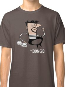 Le Bongo: Beatnik playing the bongos cartoon Classic T-Shirt
