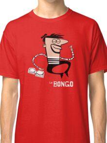 Le Bongo: Beatnik playing the bongos cartoon Classic T-Shirt