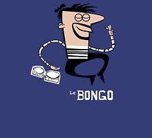 Le Bongo: Beatnik playing the bongos cartoon T-Shirt