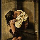 Homeless in Oil by Richard  Gerhard