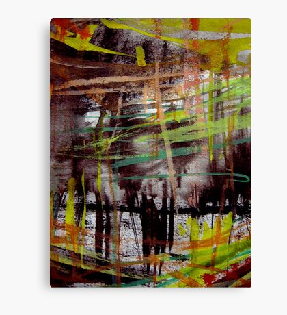 sketch wall.... deep forest Canvas Print