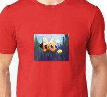 The Bumblebee and the Flower Unisex T-Shirt