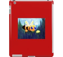 The Bumblebee and the Flower iPad Case/Skin