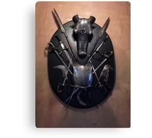 Knights Armor 2 Canvas Print