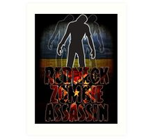 Redneck Zombie Assassin Art Print