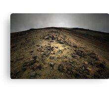 Climbing Mt Doom Canvas Print