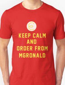 Keep Calm - Mgronald T-Shirt
