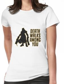 Reaper Walks Among You Womens Fitted T-Shirt
