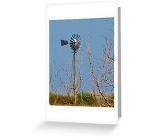 Wind Songs Greeting Card