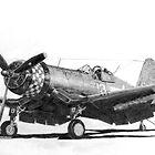 Chance Vought F4U-1A Corsair by Dave Black