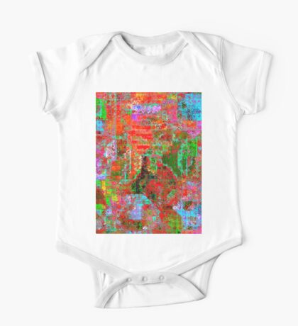1306 Abstract Thought One Piece - Short Sleeve