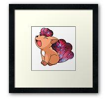 Vulpix - Pokemon Framed Print