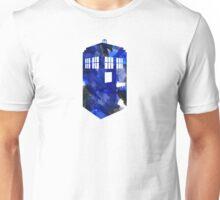 Tardis Watercolor Unisex T-Shirt