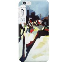 Abstract city shapes iPhone Case/Skin