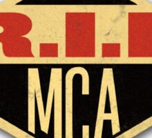 R.I.P. MCA 2 Sticker
