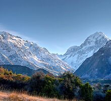 Looking Towards Mount Cook by Christine Smith