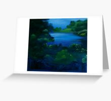 New England Spring Greeting Card