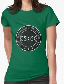 Counter strike Womens Fitted T-Shirt