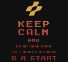 keep calm konami. by Dann Matthews