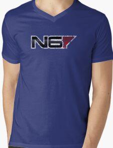 N6 V1 (Grunge) Mens V-Neck T-Shirt