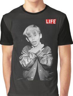 Macaulay Culkin Life Graphic T-Shirt