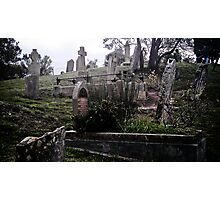Graveyard Photographic Print