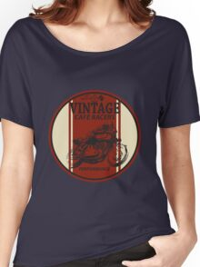 Vintage Cafe Racer Women's Relaxed Fit T-Shirt