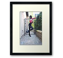 raw. Framed Print